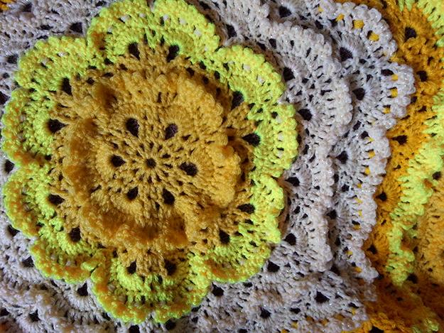 lemon meringue crochet lace