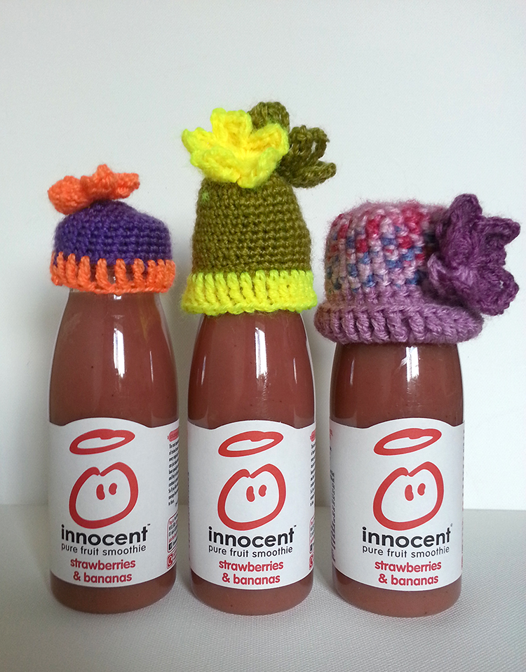 bigknit flower hats smooties